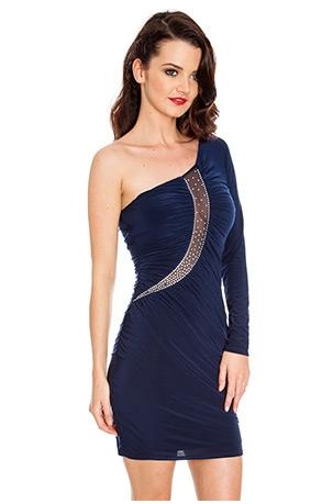 Rochie cu insertie mesh