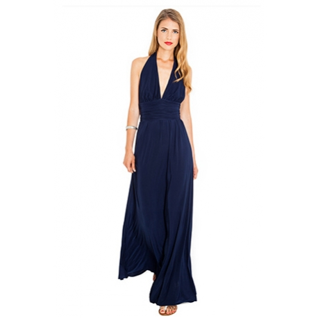 Rochie lunga cu spatele gol